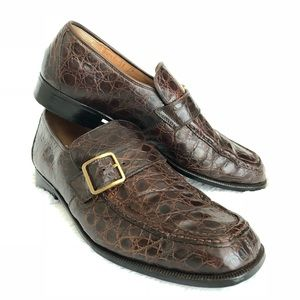 Other - Italian Made, Alligator Leather Loafers
